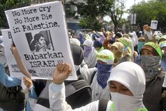 INDONESIA TOLERANT MODERATE MUSLIMS Stock Photography