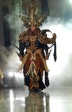 INDONESIA TRADITIONAL CLOTH BATIK Royalty Free Stock Photos