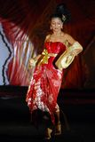 INDONESIA TRADITIONAL CLOTH BATIK Stock Images