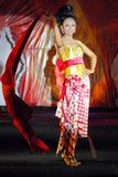 INDONESIA TRADITIONAL CLOTH BATIK Royalty Free Stock Images