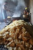 Indonesia traditional crackers karak Royalty Free Stock Images
