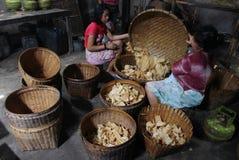 Indonesia traditional crackers karak Stock Images