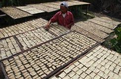 Indonesia traditional crackers karak Stock Image