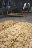 Indonesia traditional crackers karak Royalty Free Stock Photo