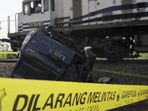 INDONESIA TRAFFIC ACCIDENT CASUALTIES Stock Photos