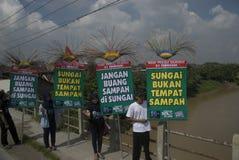 INDONESIA TRASH MANAGEMENT DANGER Royalty Free Stock Image