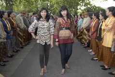 INDONESIA VAST CULTURAL DIVERSITY Royalty Free Stock Image