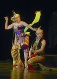 INDONESIA WAYANG WONG PERFORMANCE THEATRICAL DANCE CULTURE Royalty Free Stock Photo