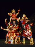 INDONESIA WAYANG WONG PERFORMANCE THEATRICAL DANCE CULTURE Royalty Free Stock Images