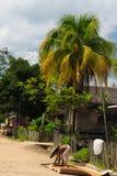 indonesia wiejski krajobrazowy obraz stock