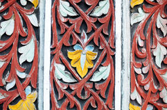 Indonesia wood carvings Stock Photography