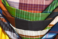 Indonesia woven silk sarong Stock Images