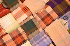 Indonesia woven silk sarong Stock Photography