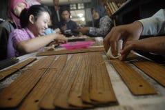 INDONESIA WRITTEN TRADITION Stock Photo