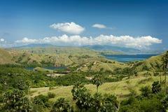 indonesia wyspy komodo park narodowy rinca Obrazy Stock