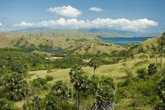 indonesia wyspy komodo park narodowy rinca Obraz Stock