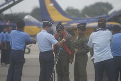 INDONESIAN AIR FORCE TO ADD AIR TRANSPORT Royalty Free Stock Photography