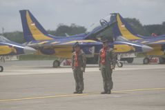 INDONESIAN AIR FORCE TO ADD AIR TRANSPORT Stock Image