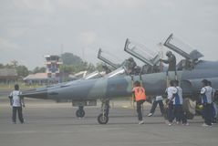 INDONESIAN AIR FORCE TO ADD AIR TRANSPORT Stock Images