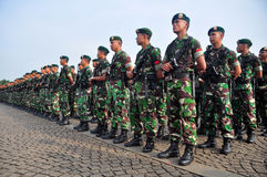 Indonesian Army Royalty Free Stock Photo