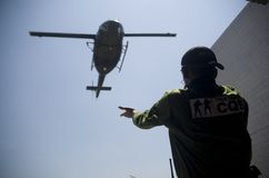 INDONESIAN ARMY SPECIAL FORCES DRILL Royalty Free Stock Images