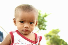 Indonesian baby Royalty Free Stock Photography