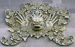 Indonesian bas-relief Stock Image