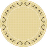 Indonesian batik circle pattern Royalty Free Stock Photo