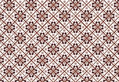 Indonesian batik pattern Royalty Free Stock Photos
