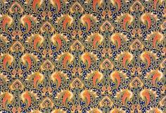 Indonesian Batik Sarong. Image of Indonesian batik sarong pattern Royalty Free Stock Photos