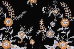 Indonesian Batik Sarong. Image of Indonesian batik sarong pattern Royalty Free Stock Images
