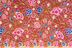 Indonesian Batik Sarong Stock Photo