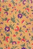 Indonesian Batik Sarong Stock Photos