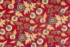 Indonesian Batik Sarong Royalty Free Stock Image