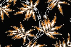 Indonesian Batik Sarong Stock Image