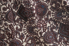 Indonesian batiks Stock Photo