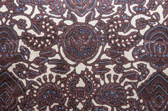 Indonesian batiks Stock Images