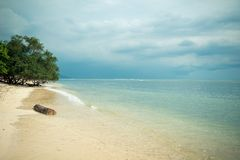 Indonesian beach Stock Image