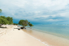 Indonesian beach Royalty Free Stock Photos