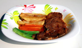 Indonesian beef steak Stock Photo