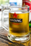 Indonesian Beer in Sumatra, Indonesia Stock Images