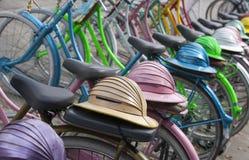 Indonesian bicycles Stock Photos