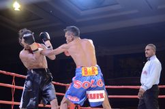 INDONESIAN BOXING WORLD Stock Photography