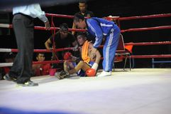 INDONESIAN BOXING WORLD Stock Image