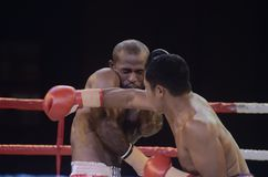 INDONESIAN BOXING WORLD Royalty Free Stock Photo