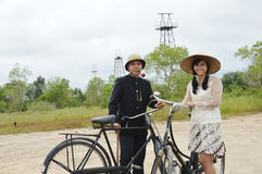Indonesian bridal couples prewedding photoshoot Royalty Free Stock Photos