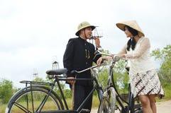 Indonesian bridal couples prewedding photoshoot Royalty Free Stock Photo