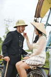 Indonesian bridal couples prewedding photoshoot Stock Photos