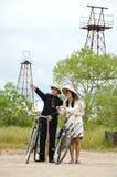 Indonesian bridal couples prewedding photoshoot Royalty Free Stock Image