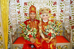 Indonesian bridal couples